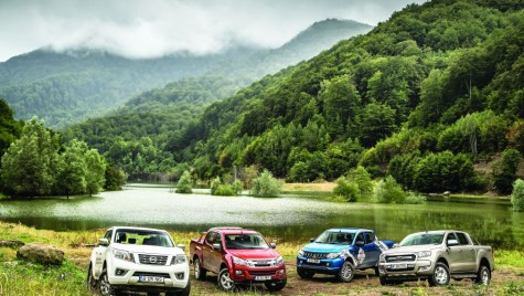Test Ford Ranger vs Isuzu D-Max vs Mitsubishi L200 vs Nissan Navara
