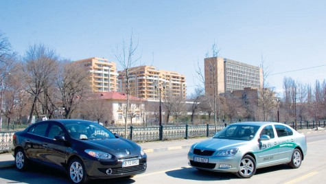 Test comparativ Renault Fluence vs. Skoda Octavia