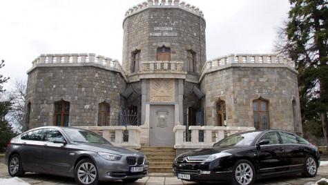 Test comparativ: BMW Seria 5 GT vs. Citroen C6