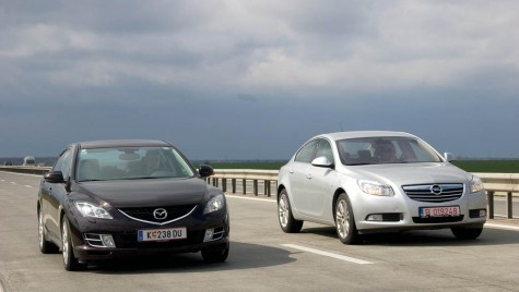 Test comparativ: Opel Insignia versus Mazda 6