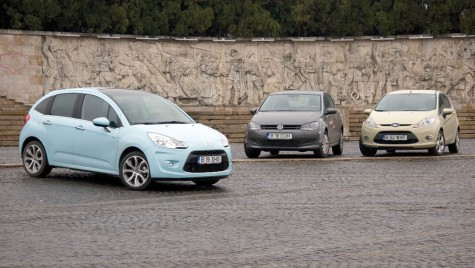 Test comparativ Citroen C3 vs. Volkswagen Polo vs. Ford Fiesta