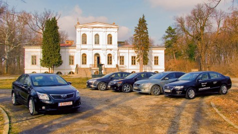 Test comparativ: Toyota Avensis vs. C5 vs. Accord vs. Mondeo vs. Passat