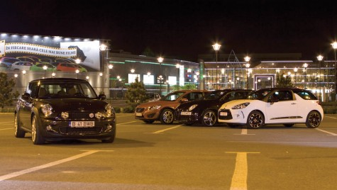 Test comparativ Citroen DS3 vs. Cooper S vs. MiTo vs. C30