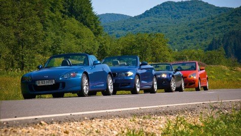 Test comparativ: BMW 125i Cabriolet vs. MX-5 vs. S2000 vs. Colt CZC