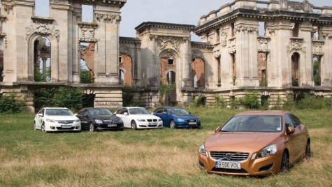 Noul Volvo S60 vs. Audi A4, BMW Seria 3, Mercedes-Benz Clasa C, Honda Accord