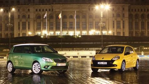 Test comparativ Renault Clio Sport vs. Skoda Fabia RS