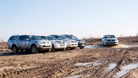 VW Amarok vs. Hilux vs. Navara vs. L200 vs. D-Max