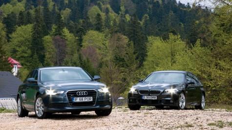 Audi A6 3.0 TDI quattro vs BMW 530d xDrive