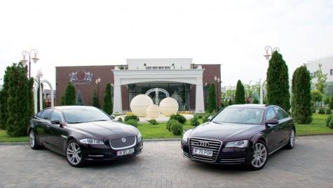 Audi A8 3.0 TDI quattro vs. Jaguar XJ 3.0 D