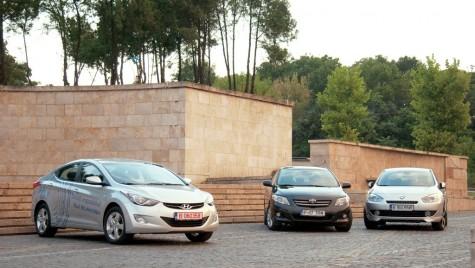 Hyundai Elantra vs. Renault Fluence vs. Toyota Corolla