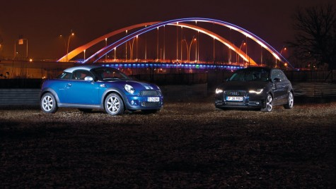 Audi A1 1.4 TFSI vs. MINI Cooper S Coupe