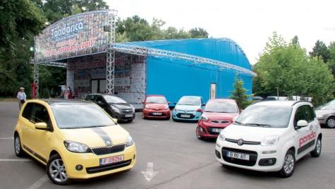 Fiat Panda si Skoda Citigo vs concurenta