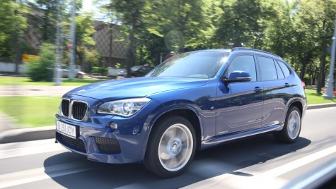 BMW X1: City tour