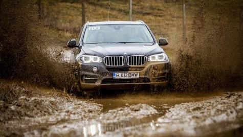 Am participat la BMW xDrive Offroad Experience 2015
