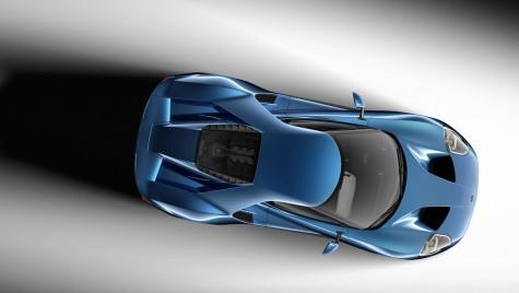 Ford fură toată lumina reflectoarelor la Detroit cu noul Ford GT