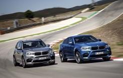 Forţă brută de la BMW: noile X5 M şi X6 M