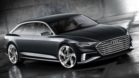Audi Prologue Avant Concept, rival pentru CLS Shooting Brake