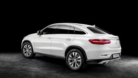 Iată noul Mercedes-Benz GLE Coupé în toată splendoarea lui