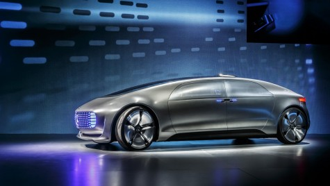 Autonomia e viitorul: Mercedes-Benz F 015 Luxury in Motion Concept