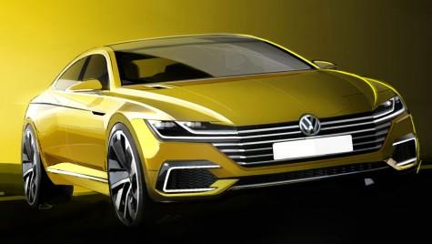 Volkswagen CC Concept, alter-ego-ul sportiv al lui Passat