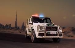 Mașinile de poliție din Dubai