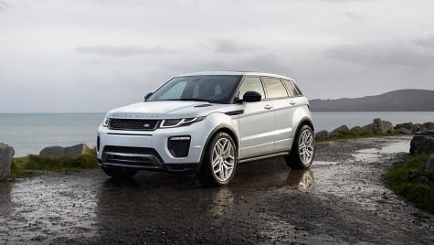 Oficial, facelift pentru Range Rover Evoque