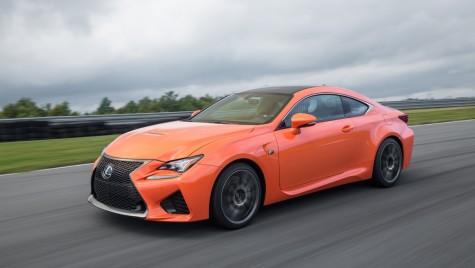 Chris Harris pune la încercare noul Lexus RC-F