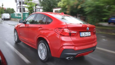 Test drive BMW X4 sau… Coupe-mania