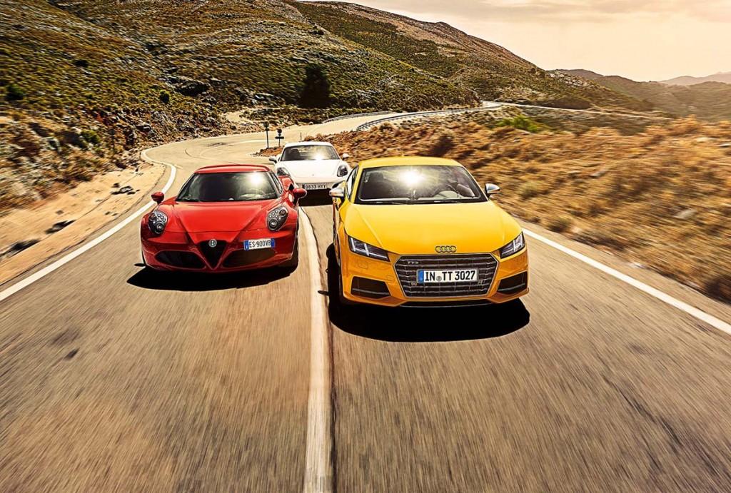 Comparativ Alfa-Audi-Porsche