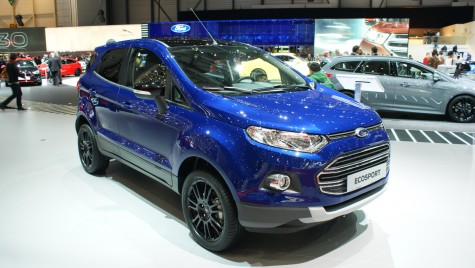 GENEVA LIVE: Ford EcoSport Facelift ar putea deveni al doilea model produs la Craiova