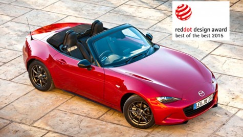 Mazda a câștigat trei premii Red Dot 2015