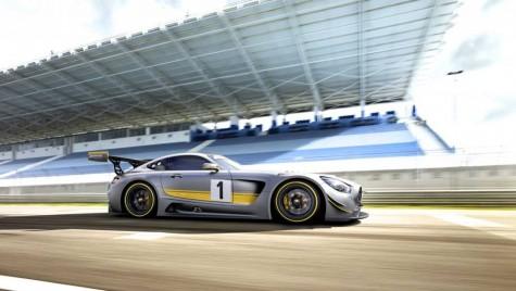 Mercedes-AMG GT3 este cel mai fioros Benz din istorie