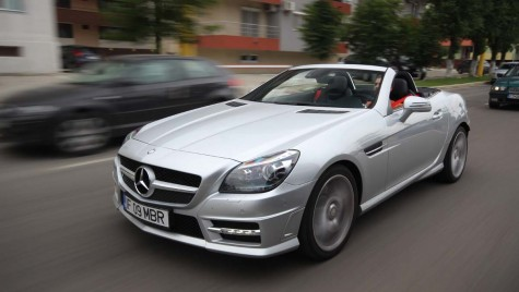 Mercedes-Benz SLK 250 – Toate pânzele sus!