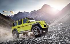 T-Rex are un preţ! Mercedes-Benz G 500 4×4² disponibil la vânzare