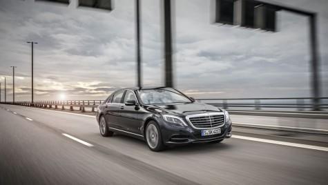 Noul Mercedes Clasa S este mașina oficială a Președintelui României, Klaus Iohannis