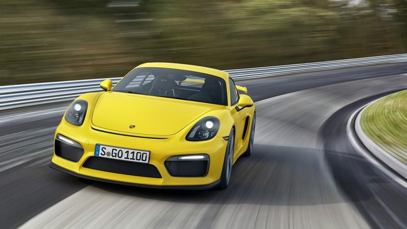 Porsche Cayman GT4 AEx