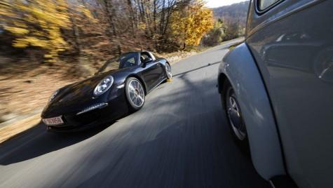File de poveste: Porsche 911 Targa 4S şi Volkswagen Kafer