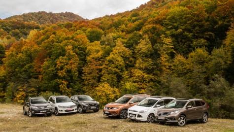 Japonia vs Europa – test comparativ SUV-uri compacte
