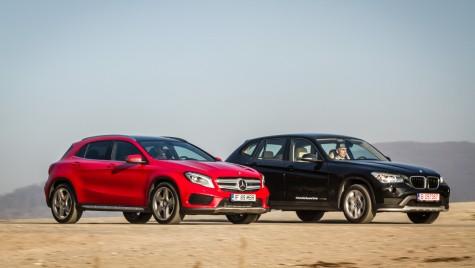 Altfel de SUV-uri: BMW X1 versus Mercedes-Benz GLA