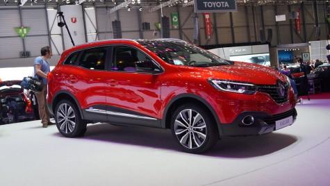 GENEVA LIVE: Renault Kadjar, SUV-ul francez schițat de un român