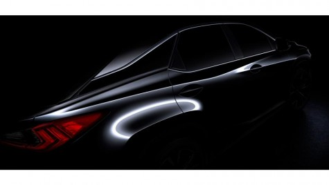 Prima imagine cu noul Lexus RX – TEASER FOTO