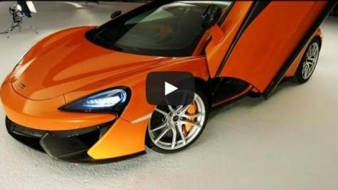 McLaren 570S, 911 Turbo killer? Primul clip de prezentare