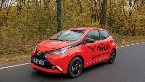 """Oferta Toyota Aygo pentru programul """"Prima mașină"""""""