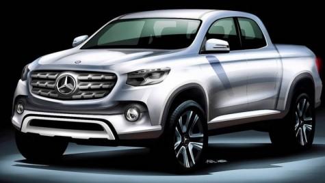 Primul pick-up Mercedes-Benz va deveni realitate până în 2020
