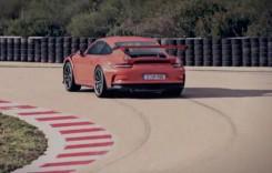 Porsche 911 GT3 RS se ia la trântă cu circuitul de la Nardo