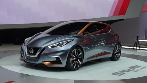 GENEVA LIVE: Nissan Sway sau viitorul Micra în straie SF