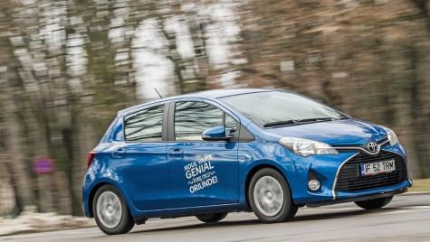 """Oferta Toyota Yaris pentru programul """"Prima mașină"""""""