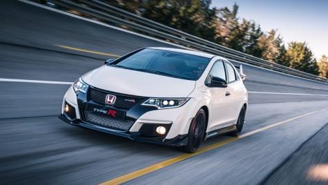 Honda Civic Type R debutează la Geneva cu un record