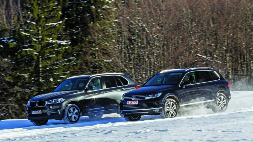 BMW X5 xDrive 30d vs VW Touareg V6 TDI