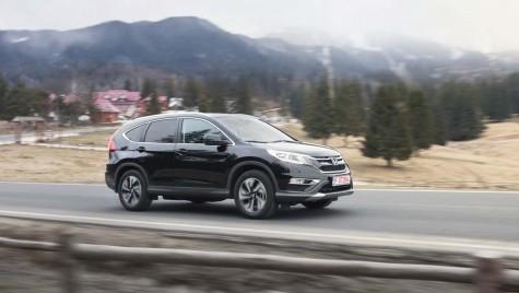 Scurt test cu Honda CR-V facelift